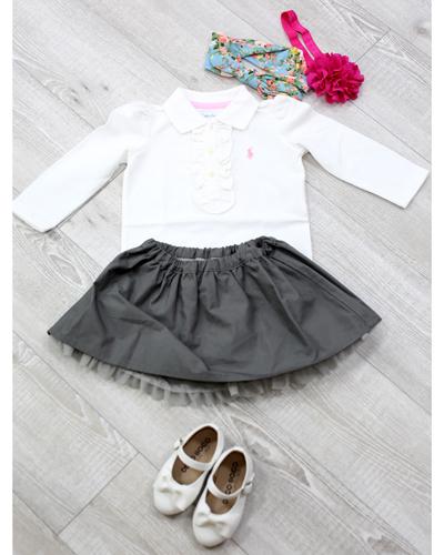 キッズ衣裳 ラルフローレンポロシャツ(1歳)