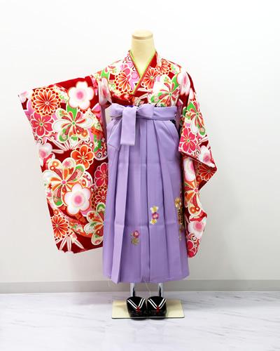 7歳袴(紫)