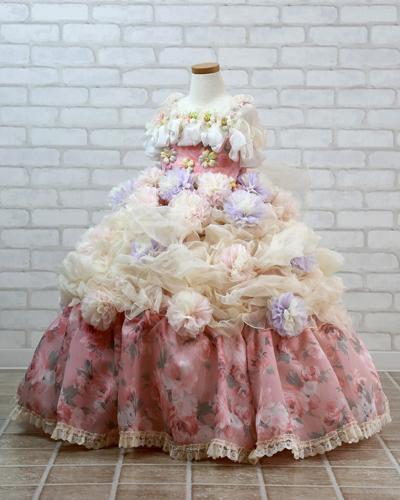 [No.121000012]キッズドレス(3歳・ピンク)