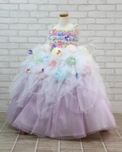 [No.121000014]キッズドレス(3歳・マルチカラー)