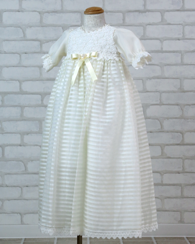 [No.12100002]ベビードレス(オフホワイト)