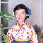 小学校卒業袴のヘアメイクは、東陽町の写真館シンデレラにお任せください