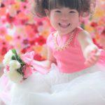 江東区の七五三撮影、ドレスを着て、お姫様に大変身!