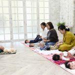 江東区の写真館でリズムベビーマッサージイベントがスタートします